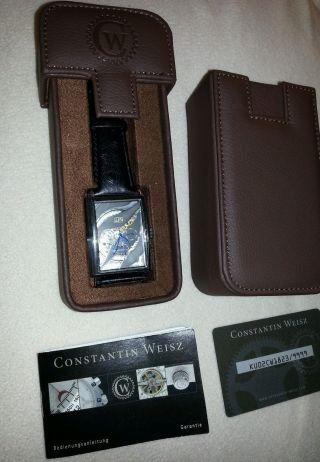 Constantin Weisz Armbanduhr Uhr Automatikuhr Chrono Automatik Mondphase Bild