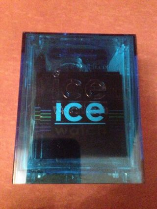 Ice Watch Ch.  Kbe.  Bb.  S.  12 Chrono Big Big Black Blue Neu&ovp Bild