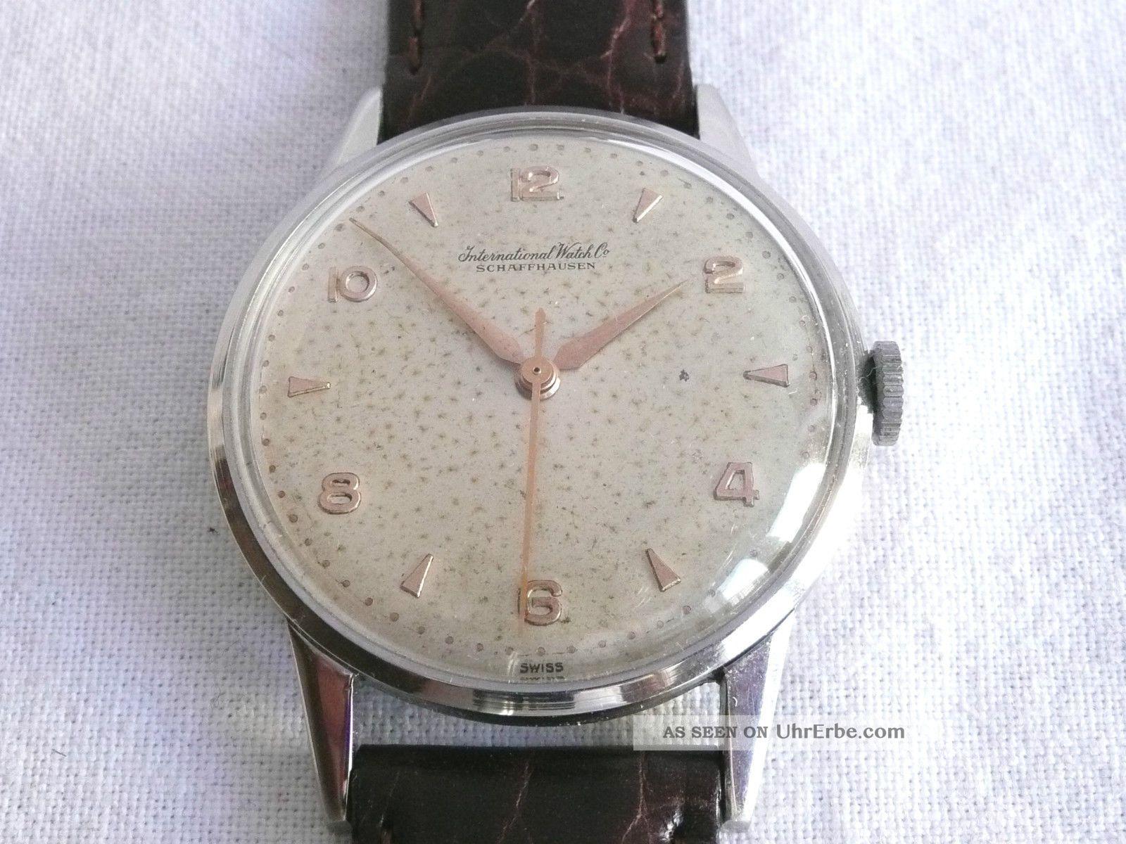 Top Iwc Hau,  Stahl,  Cal.  89,  1950er Jahre Armbanduhren Bild