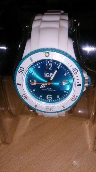 Ice - Watch Ice - Sili Ice - White Armbanduhr Für Unisex (si.  Wt.  U.  S.  11) Bild