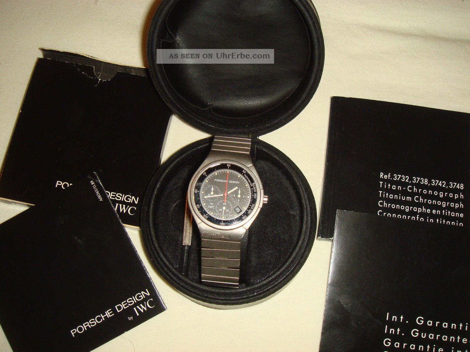 Iwc Porsche Design Titan Chronograph Armbanduhren Bild