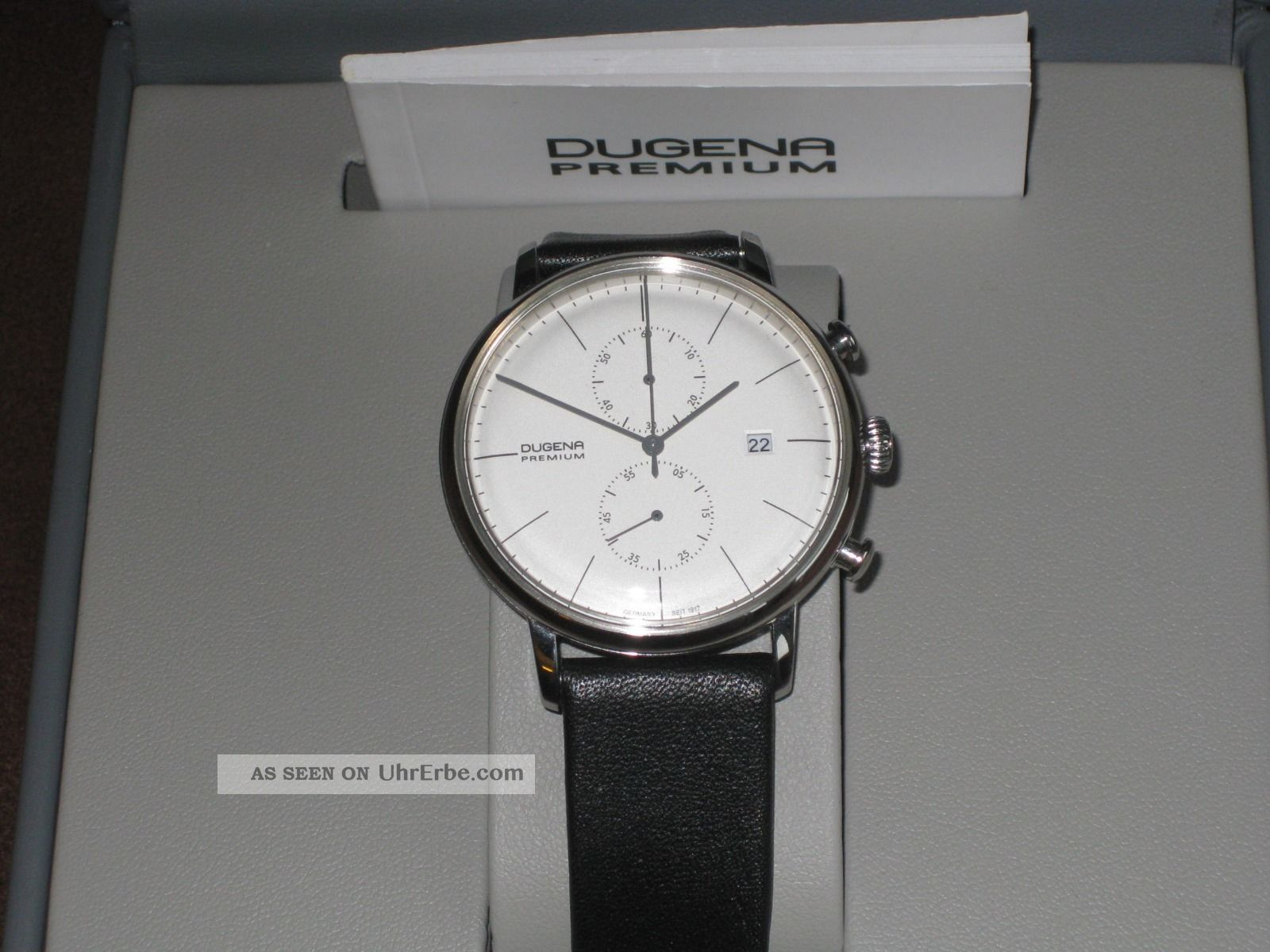 Dugena Premium Chrono Armbanduhren Bild