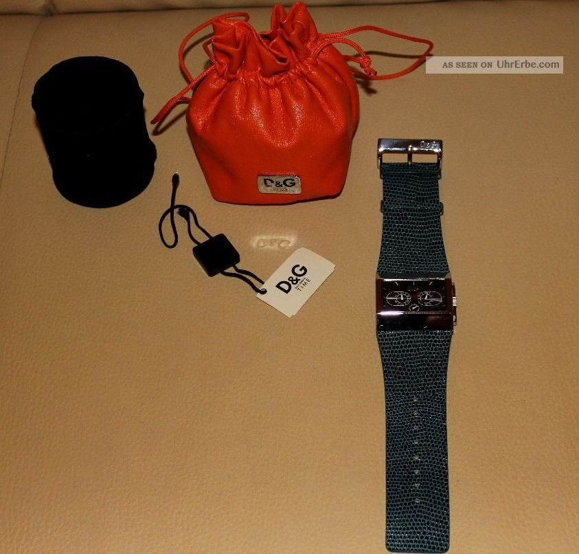 Dolce & Gabbana D&g Herrenuhr Chronograph Armbanduhren Bild