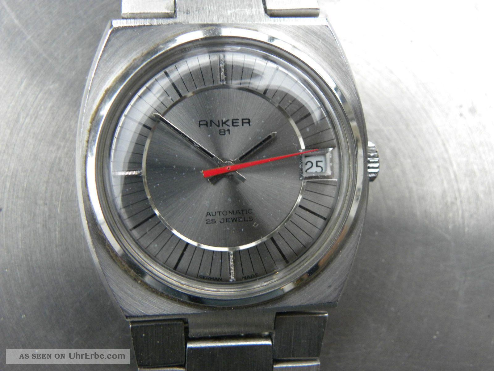 Schöne Anker81 Atomatic 25 Jewels Armbanduhren Bild