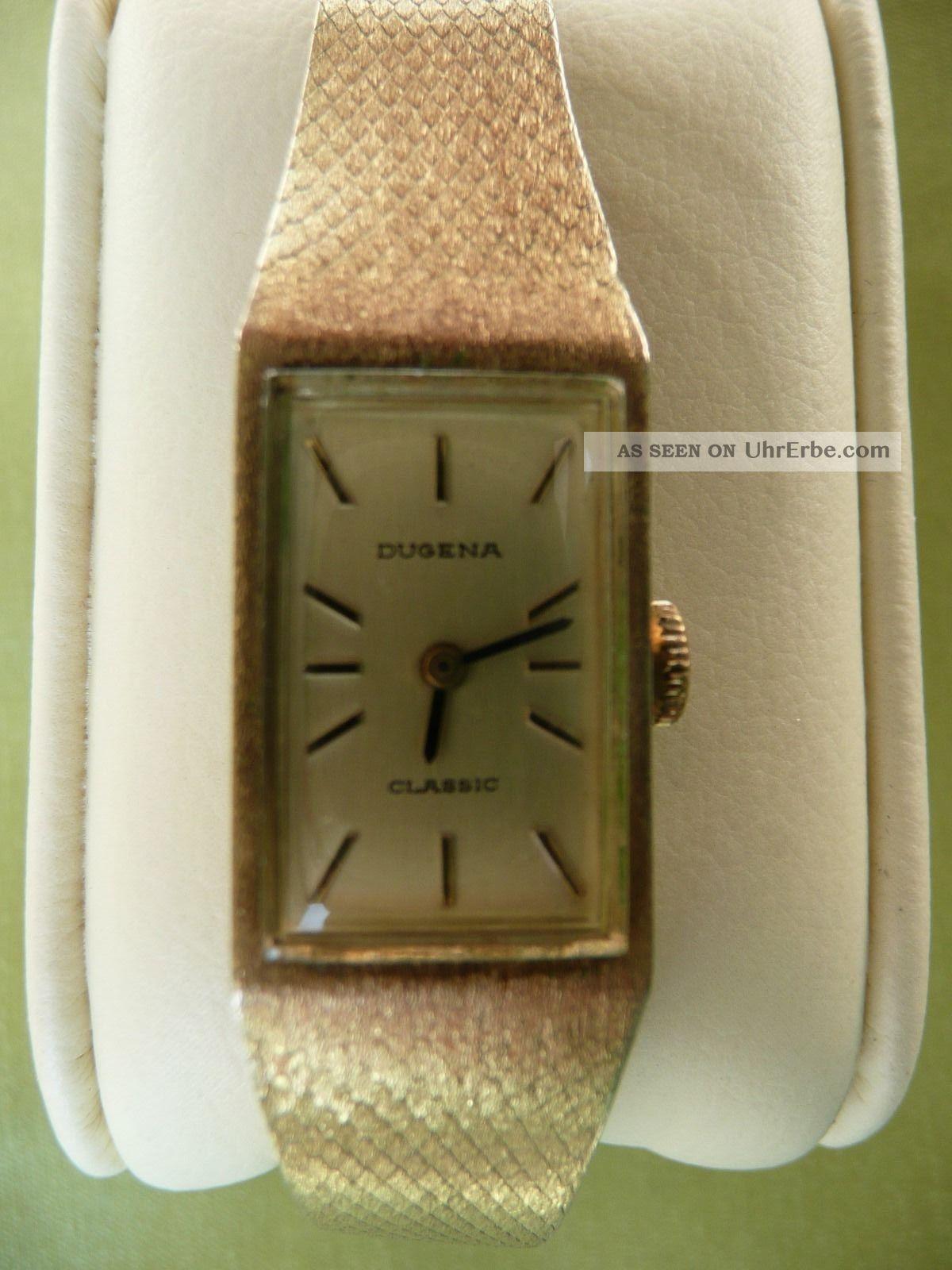 Dugena Classic Damen Armbanduhr Armbanduhren Bild