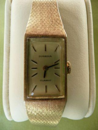 Dugena Classic Damen Armbanduhr Bild
