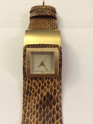 Damenuhr Uhr Für Damen Von Esprit Gold Bild