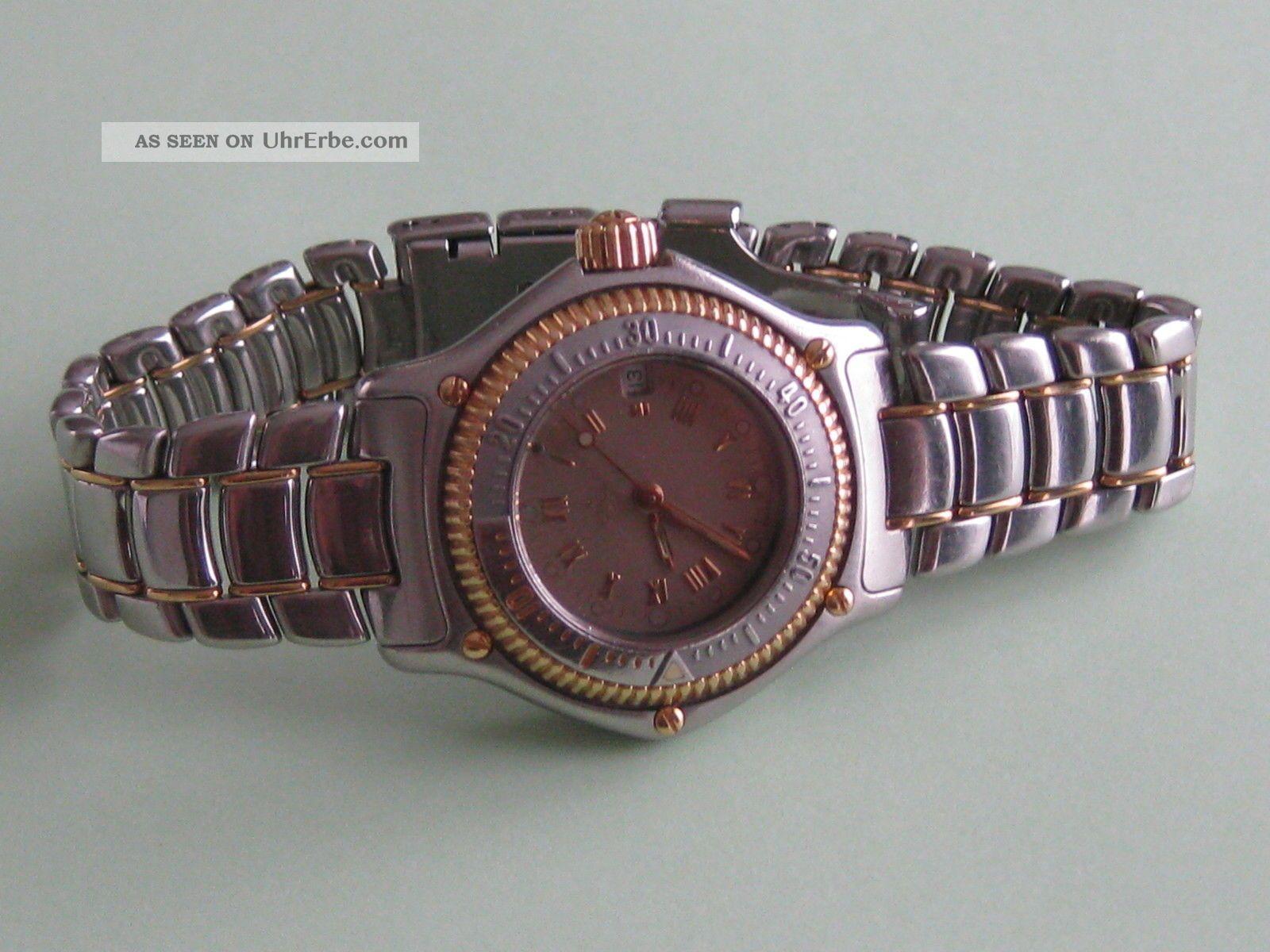 Ebel Discovery Divers - Steel/18k Gold Damenuhr Armbanduhren Bild