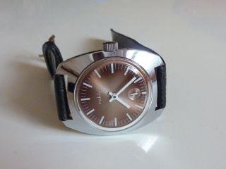 Ruhla Uhr Herrenuhr,  Ungetragen Nos,  Vintage Ddr,  70er 80er Jahre Bild