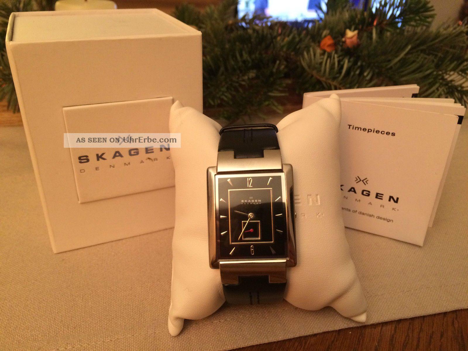 Skagen 324lslb Herren Armbanduhr Armbanduhren Bild