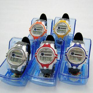 Herren - Digitaluhr - Uhr Mit Alarm Stoppuhr Licht U.  M.  - Sportuhr Armbanduhr - Bild