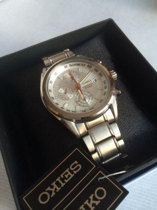 Seiko Titanium Quartz Herrenuhr Cal.  7t92 1/20 Chronograph Uhr Herren Bild