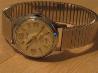 Kienzle Herrenarmbanduhr,  Handaufzug 50er Jahre,  Kleine Sekunde Bild