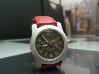 Esprit Damen Mädchen Uhr Armbanduhr Vw Volkswagen Bus Bully Mit Neuer Batterie Bild