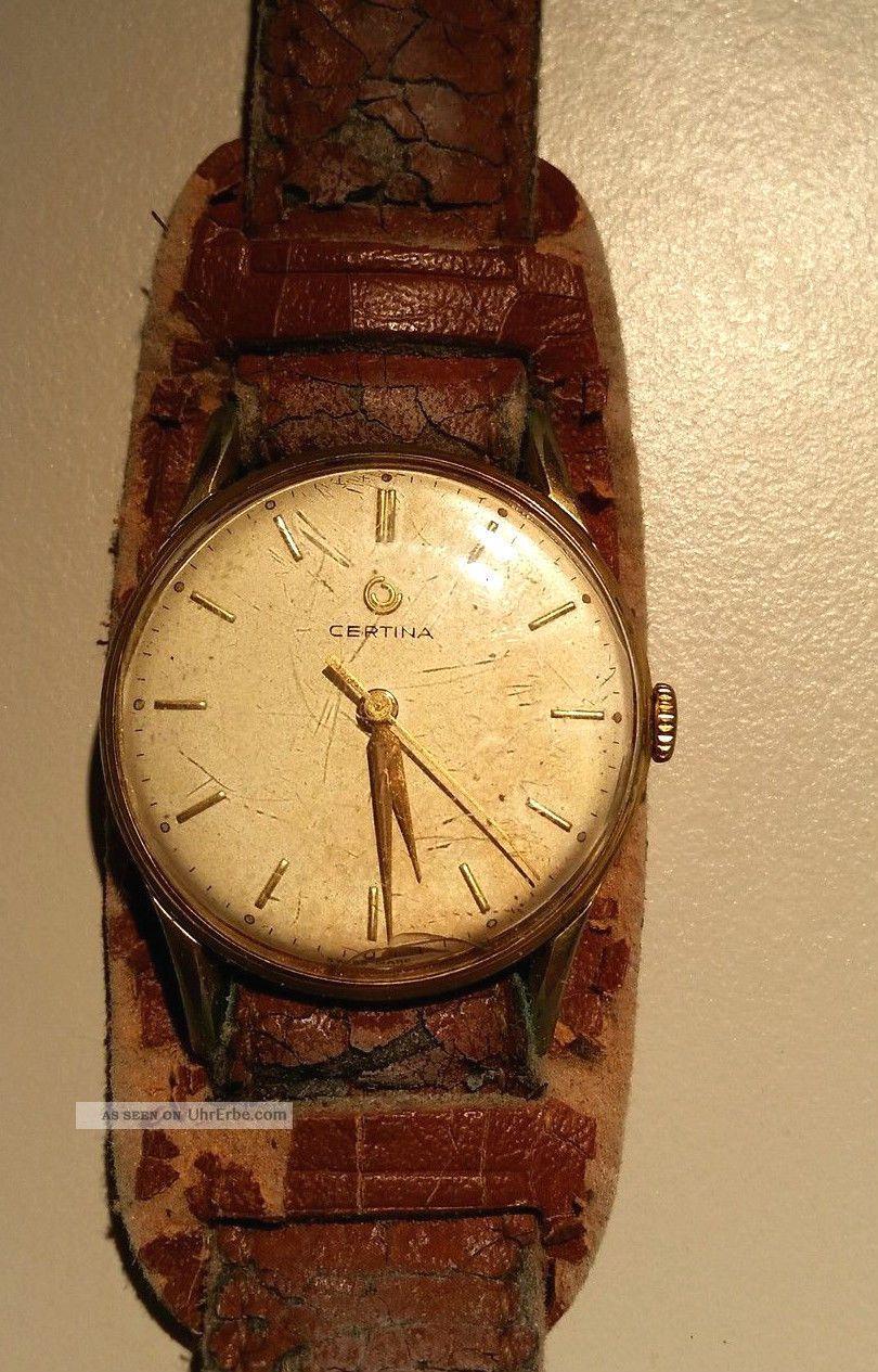 Certina Armbanduhr Swiss Made Armbanduhren Bild