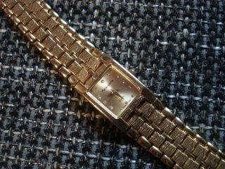 Persopolis Edle 18 K Vergoldete Schweizer Damen - Uhr Wie Bild