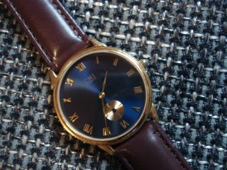 Cmi Wunderschöne,  Goldene Schweizer Herren Uhr Einfach Bild