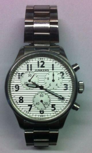 Junkers Uhr Wellblech Ju52 6286/2415 Bild