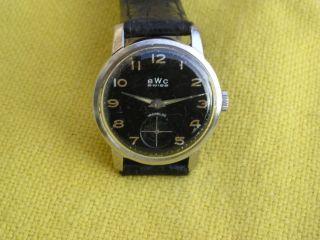 Bwc Herren Armbanduhr,  As Wehrmachts - Kaliber 1130,  Dienstuhr (jahrgang 40 - 45) Bild