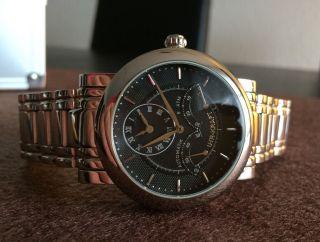 Uhr Kraft Retrograde Automatik 15111/2am - Zweite Zeitzone Bild