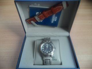 Festina Herren Uhr Armbanduhr Aus Edelstahl/silber F16170/4 Bild