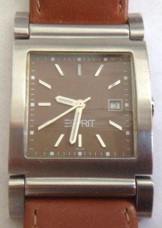 Esprit Armbanduhr Uhr Rar Selten Bild