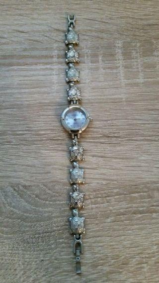 Armbanduhr Schildkröte Armband Nickelfrei Mabelle - Quartz Bild