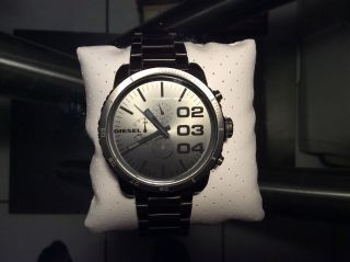 Diesel Dz4250 Chronograph Aus Ionisiertem Stahl Bild