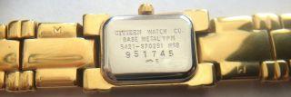 Citizen 5421 - S70291 Hsb Armbanduhr Uhr Rar Selten Schiebe Deckel Bild