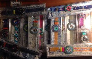 15 X Swatch Scuba Gekauft In Den Herstellungsjahren 1993 - 1996 Ungetragen Bild