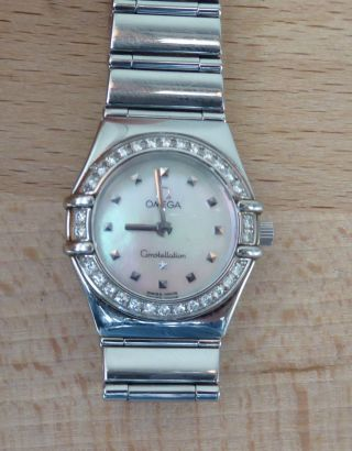 Omega Constellation Damen My Choice Brillantlünette Bild