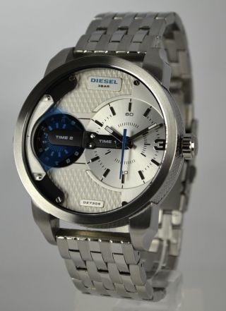 Diesel Uhr Mini Daddy Herrenuhr Dz7305 Armbanduhr Xl Bild