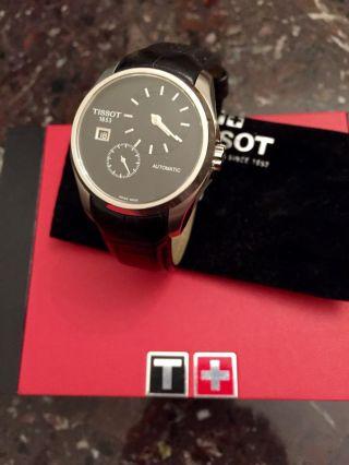 100 Tissot Herren Uhr Herrenuhr Mechanik Np.  600€ T035.  428.  16.  051.  00 Bild