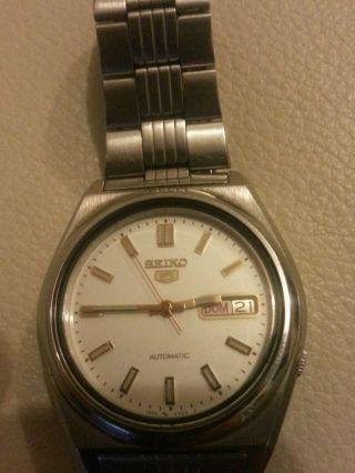 Seiko 5 Automatisch Armbanduhr Für Herren Bild