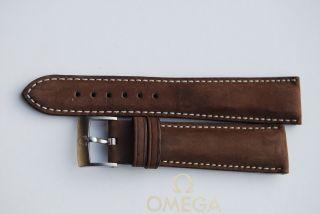 Omega Dynamic Iii 3 Lederband 20mm Armband/bracelet Chronograph 7 Bild