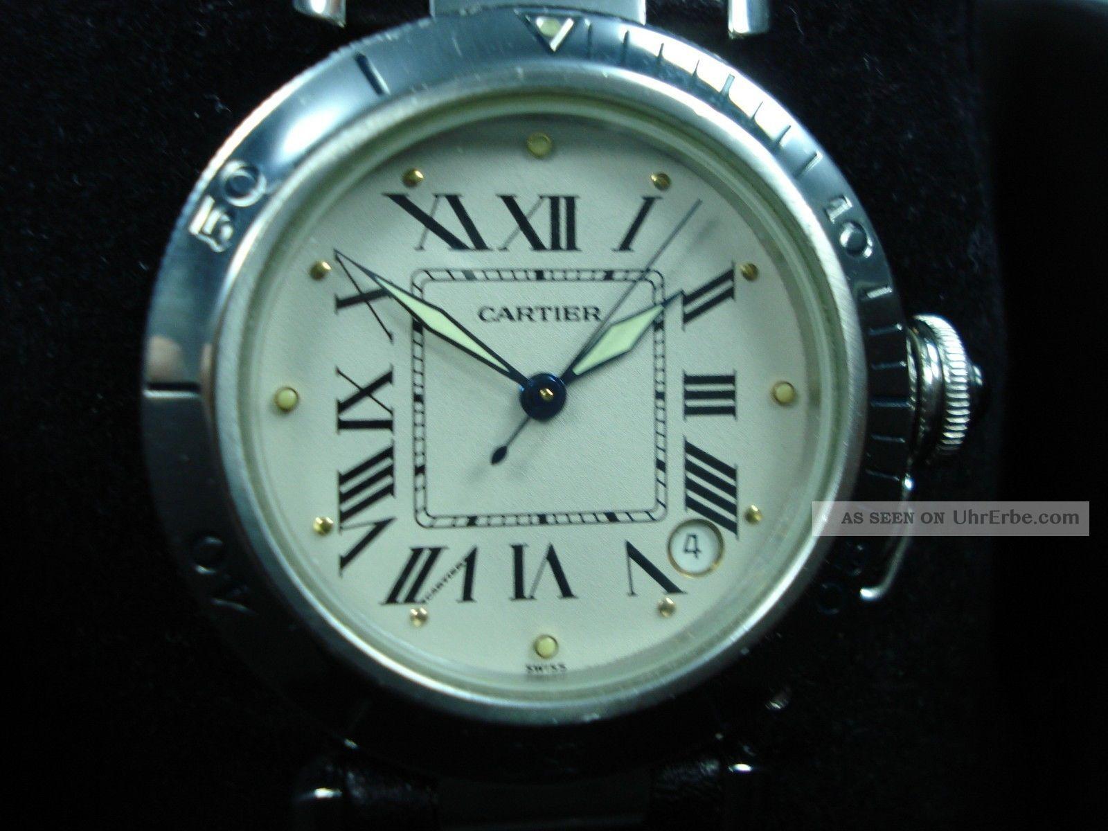 Cartier Pasha C Armbanduhr Armbanduhren Bild