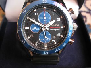 Seiko Sportura Chronograph 7t62 Bild