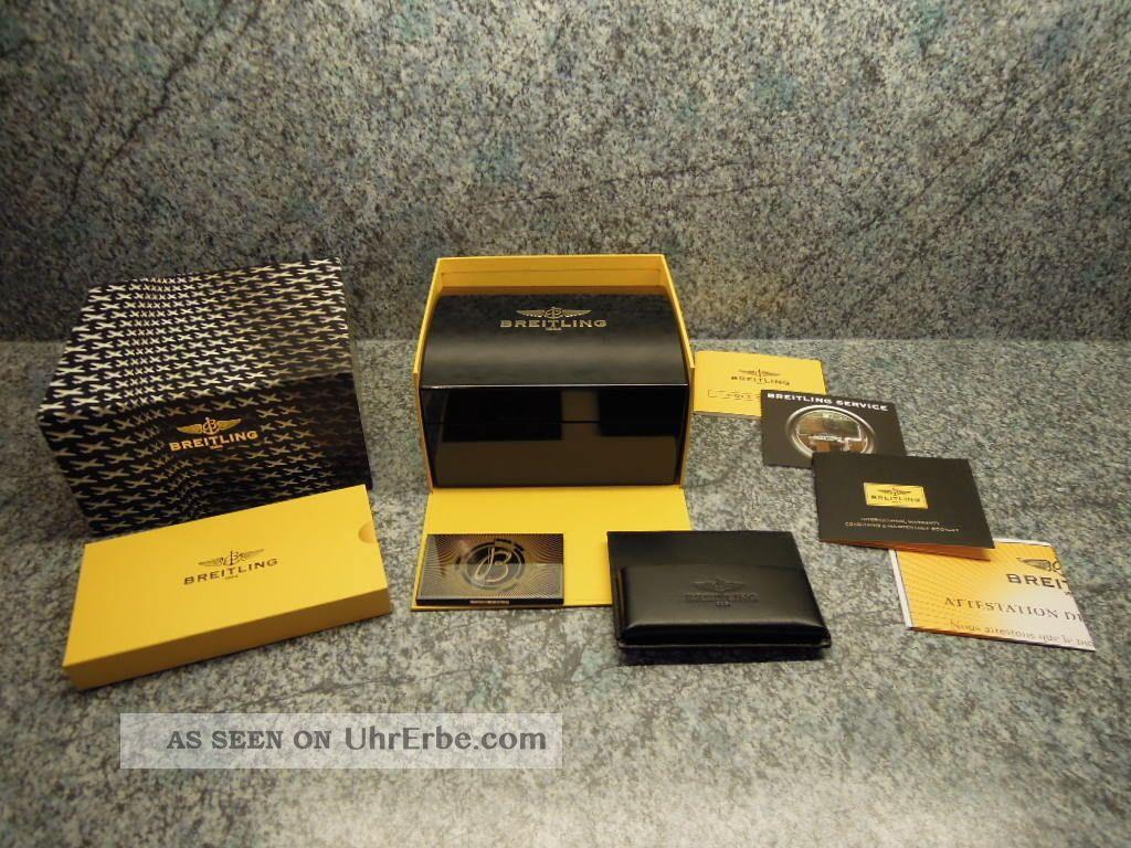 Breitling A74380 Colt 2 Colt Ii Komplettset Wie Mit Bis 2015 Armbanduhren Bild