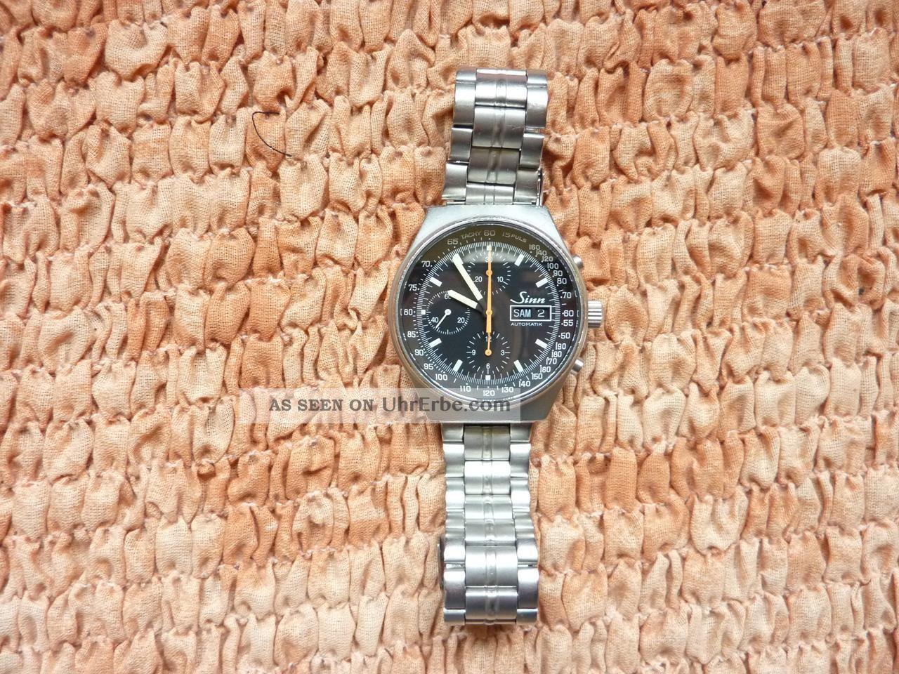 Sinn 144st Chronograph Automatik Armbanduhren Bild