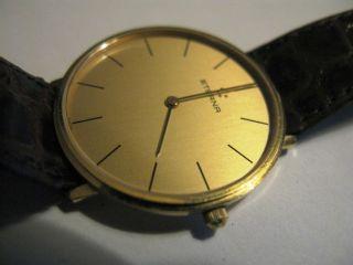 Klassisch - Elegante Herren Armband Uhr Eterna Aus 585 (14 Kt. ) Gold Bild
