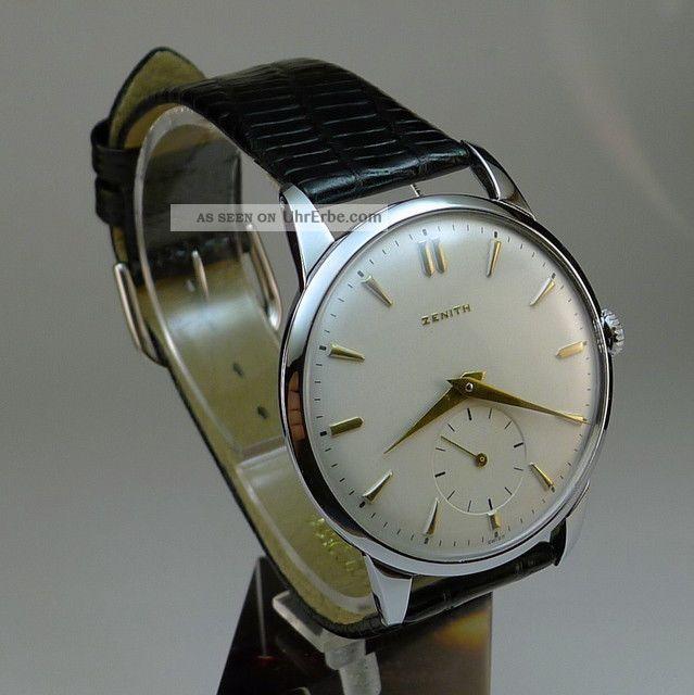 Zenith 17 Jewels.  Kaliber 126.  Hochwertiger Klassiker Armbanduhren Bild