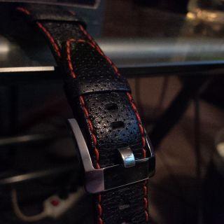 Seiko Sportura Leder Armband (cordon) Wie Bild
