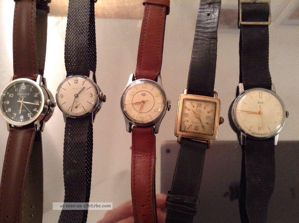 Armbanduhren Konvolut Umf Ehr Kienzle Russische Uhr Armbanduhren Bild