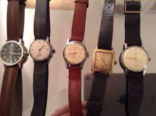 Armbanduhren Konvolut Umf Ehr Kienzle Russische Uhr Bild