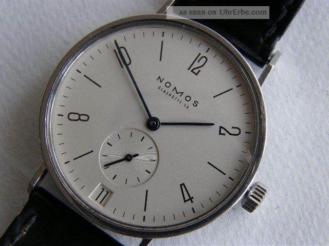 Nomos Tangente Glashütte 35mm Armbanduhren Bild