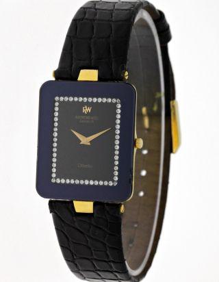 Raymond Weil Othello Damen Dresswatch 18k.  Goldplated