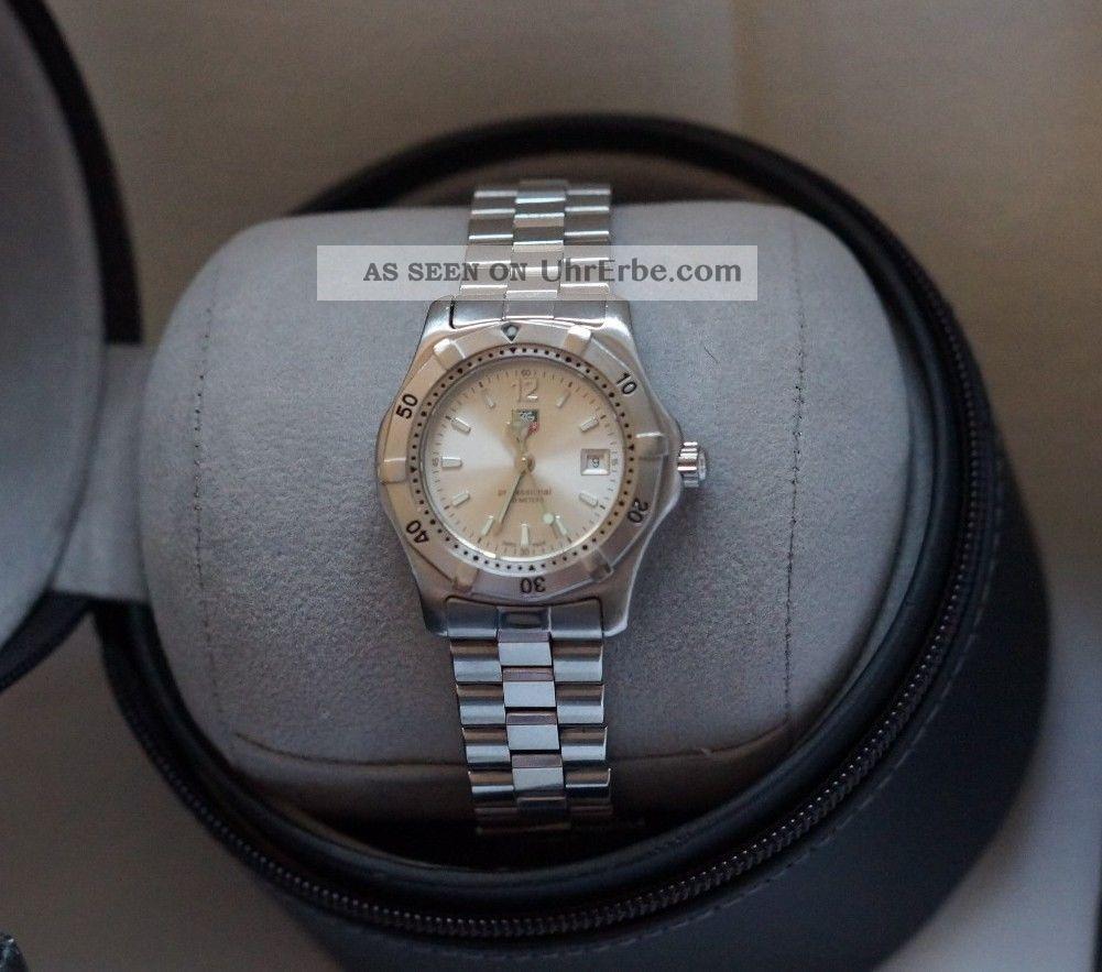 Tag Heuer Wk1312 - 1 Damenuhr Ovp Armbanduhren Bild