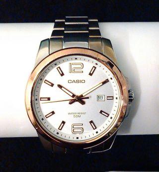 Casio Herrenuhr/unisex - Armbanduhr Mit Datum Bild