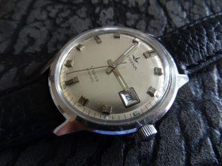 Dugena Tropica Automatic,  Eta 2783,  Vintage,  Edelstahl, Bild