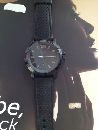 Armbanduhr Herren Hugo Boss (orig.  / Gebracht) Schwarz Bild